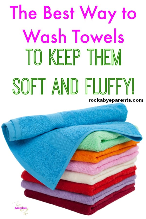best way to wash towels to keep them soft and fluffy. Black Bedroom Furniture Sets. Home Design Ideas