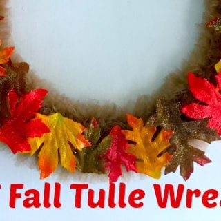 Fall Wreath on a Wire Frame