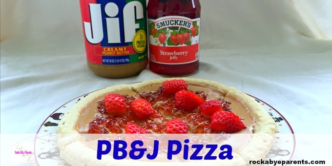How to Make a Peanut Butter and Jelly Pizza