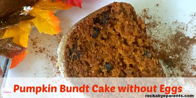 Egg-Free Pumpkin Bundt Cake