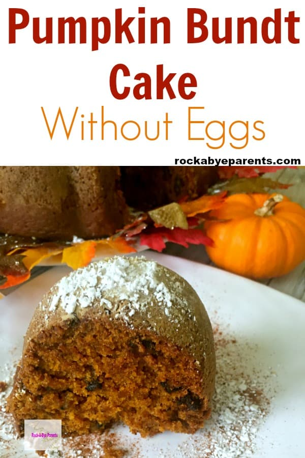 Pumpkin Bundt Cake without Eggs