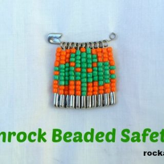 Shamrock Safety Pin Design