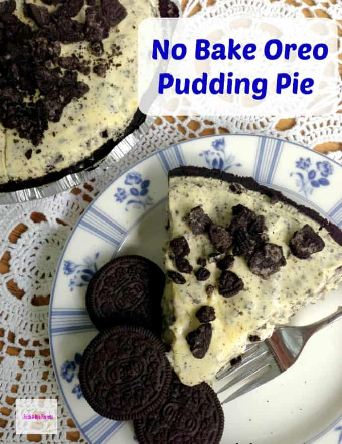 Easy Oreo Pudding Pie